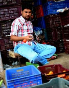 market street candid people khanderao