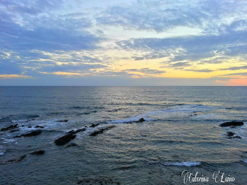 #sunset #autumn #sardegna #nature #sea #beach #photography #alghero  Sorry I've been far for so long... Sweet dreams everyone♥♥