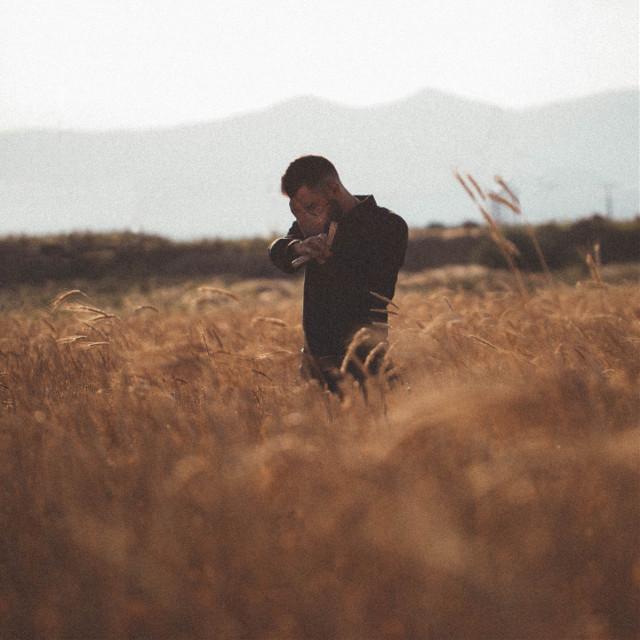 #freetoedit #portrait #field #man #cover