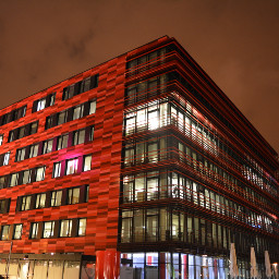 berlin colorful red architecture architecturelovers