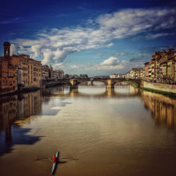 canoe dirty river architecture florence