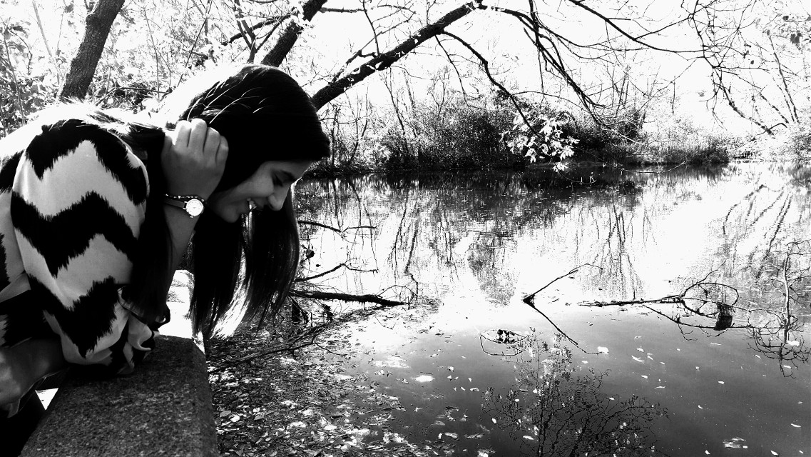 Got to see yourself. Love and embrace yourself.  Accept yourself.   #nature #blackandwhite #people #photography #landscape #highcontrast  #photoshoot