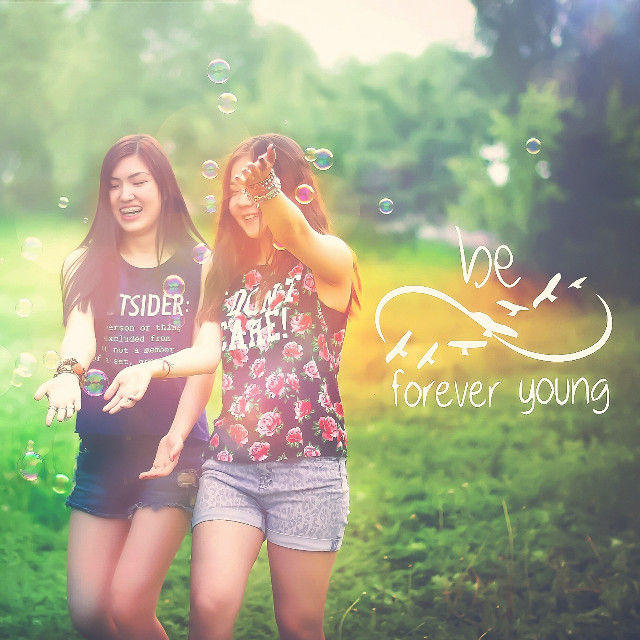 Be forever young! #bff#fineartphotography#digitalart#photobyme