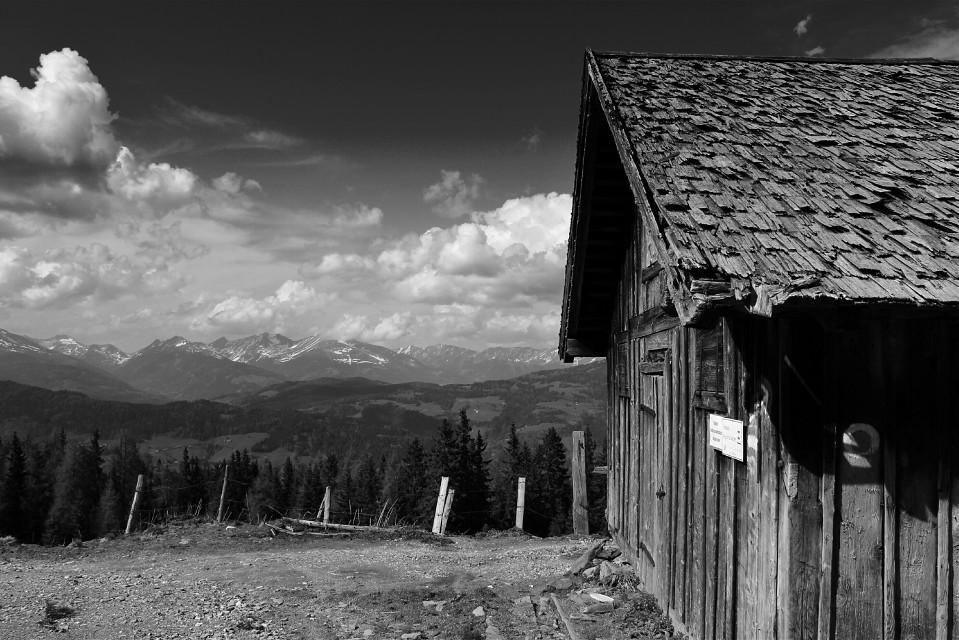 #blackandwhite #mountain #landscape #nature #freetoedit #photography