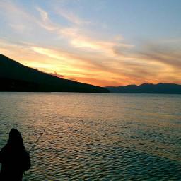 yesterday lake sunset graduation co
