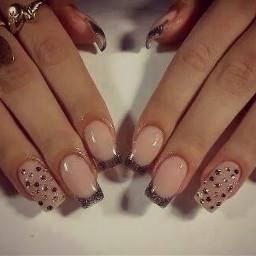 love nails nailart girlythings nude