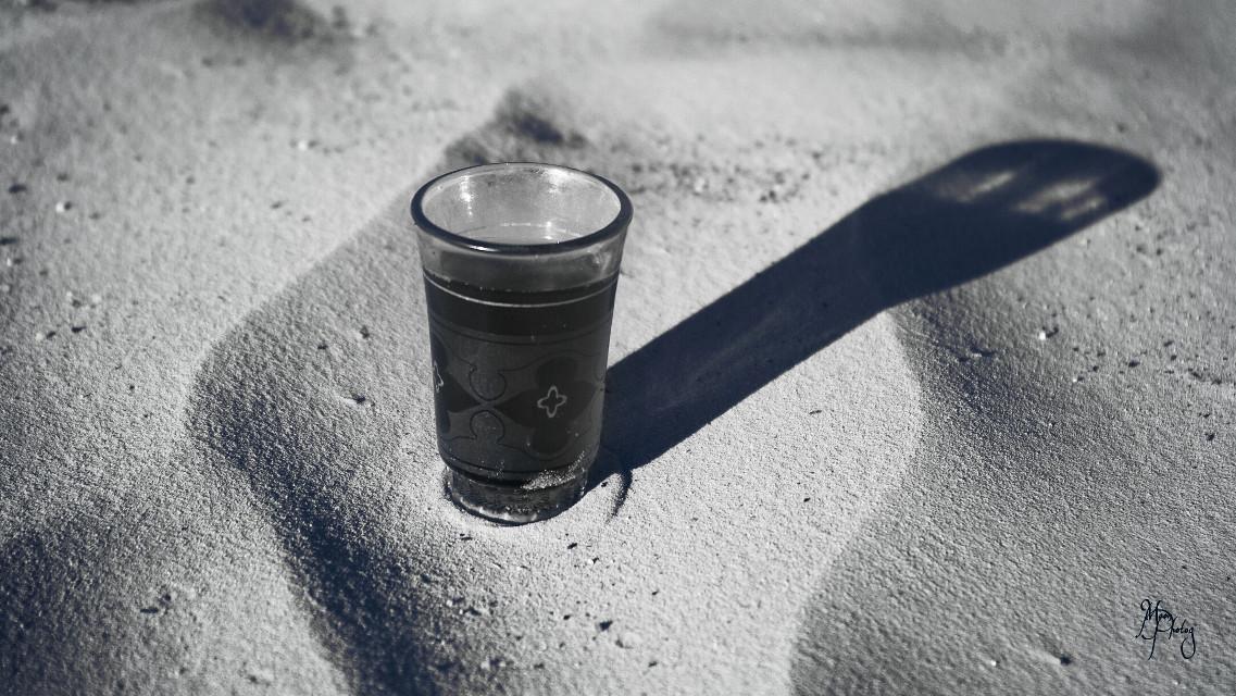 #longshadow #tea  #sand #travel #blackandwhite #photography