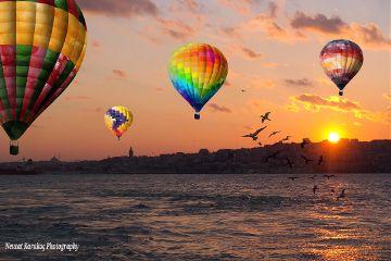 photography freetoedit colorful sunset istanbul