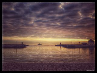 photography sea clouds boat