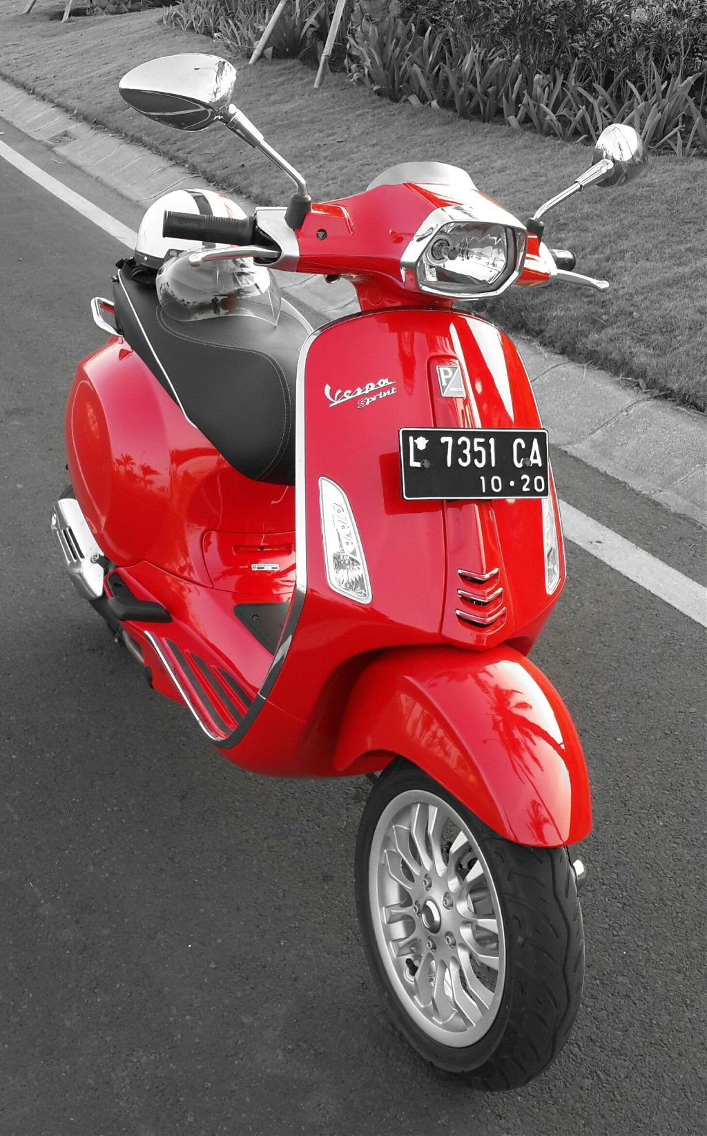 My red scoots 🐝