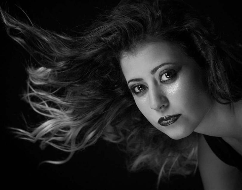 #blackandwhite #photography #Portrait #eyes #woman #flash #studio #Nikon #model  #softbox  #beauty dish
