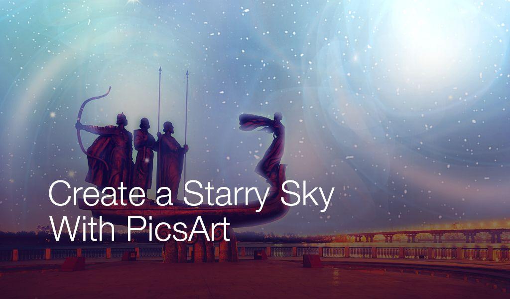 create a starry sky