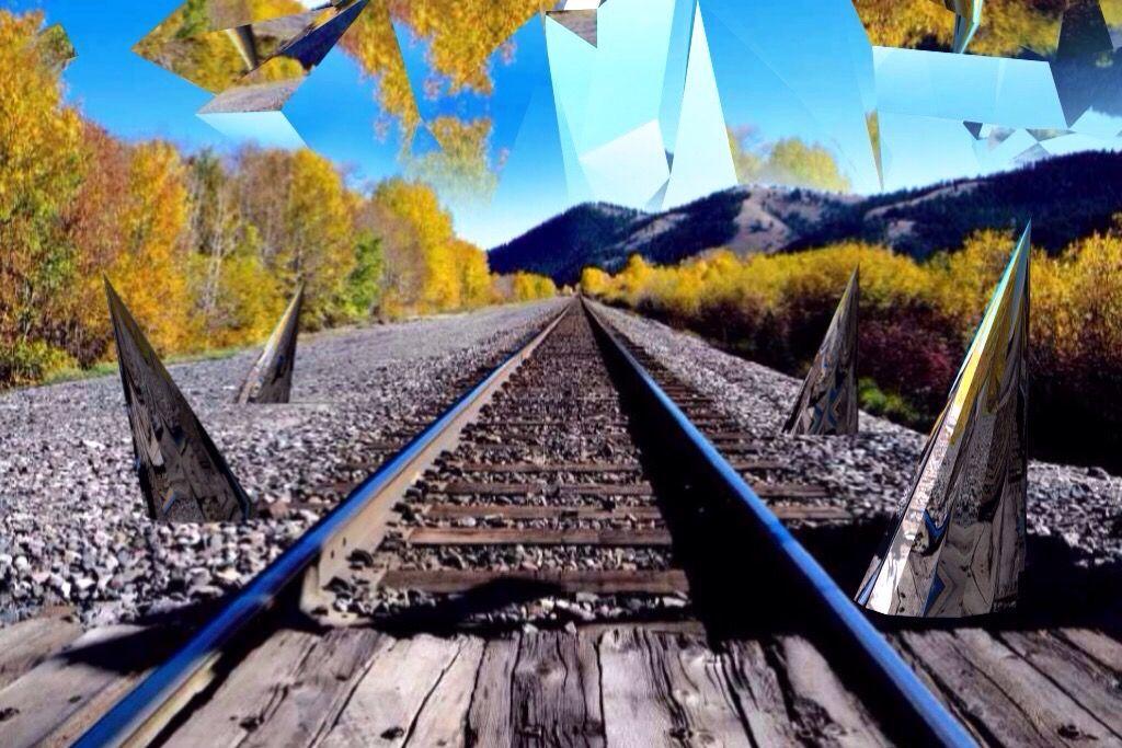 railway photo edit