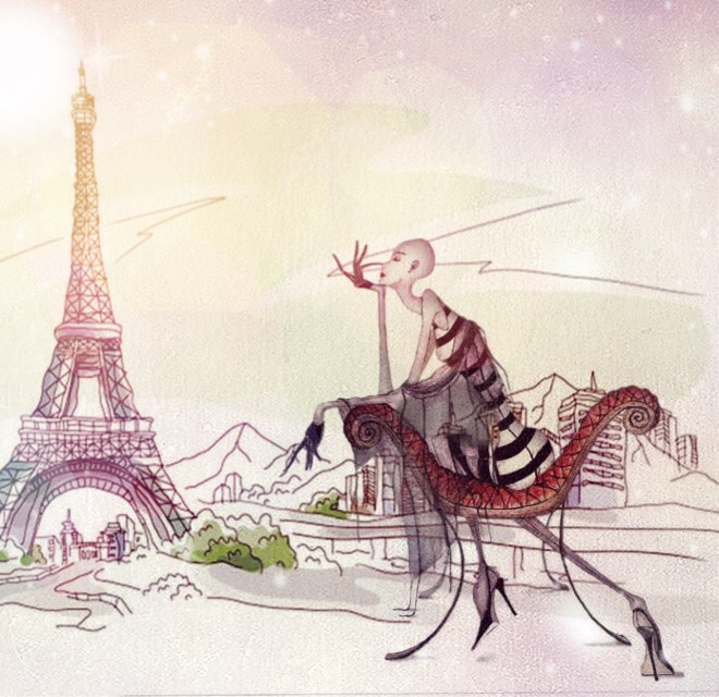 #illustration  #fashion #fashionillustration  #art #drawing #draw #sketch #sketchbook #figure #paris #JUKO