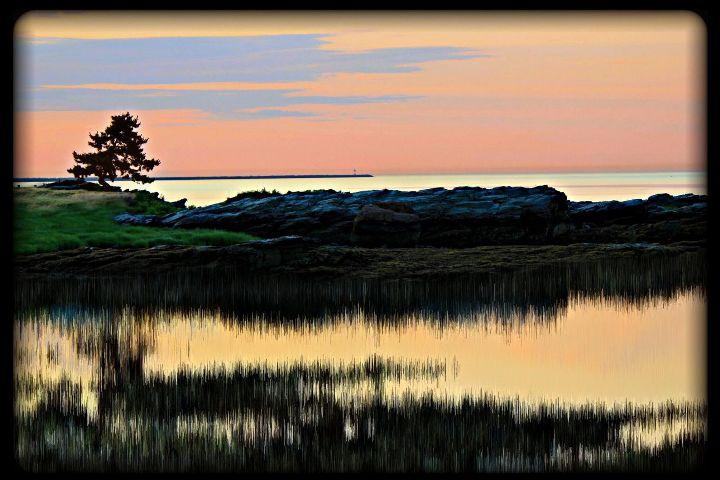beach sunrise horizon dawn