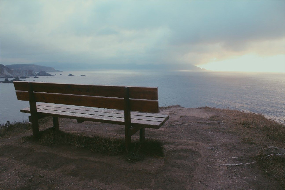 #bench #landscape #nature #galicia #photography #canon #nofiltersneeded