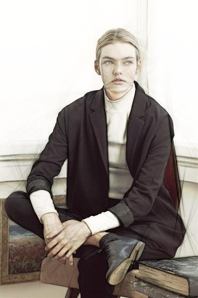 #model #sketch #drawing #portrait #pencileffect
