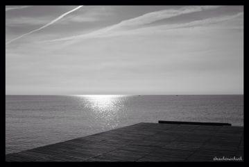 photography blackandwhite sea silence tranquility