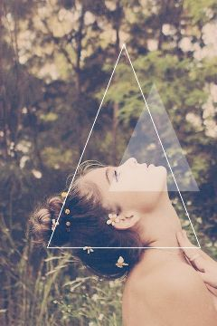 triangle vintage up hope