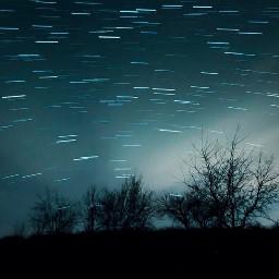 interesting night sky stars photography