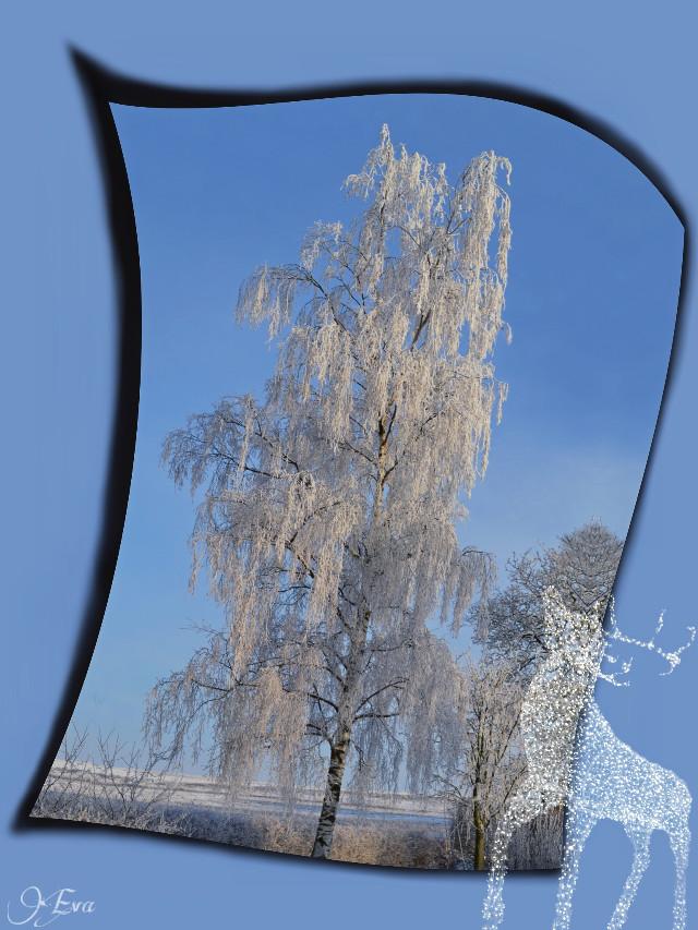 On his way to join the #wapwinterwonderland 😊 #editstepbystep #clipart #winter