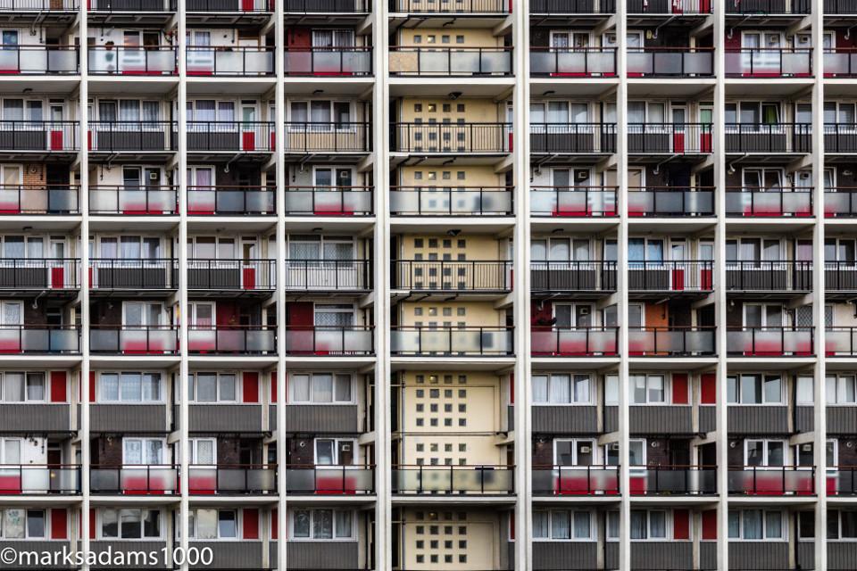 Uniformity - Bethnal Green    #bethnalgreen #urban #urbanexploration #housingestate #housingproject #london #eastend  #shoreditch #grime #symmetry #highdensity #towerhamlets #architecture #freetoedit