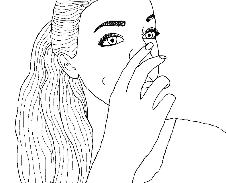 Another outline of myself  #tumblr  #outline  #tumblroutline #bored  #boredom