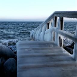 sea photography white vanishingpoint nature fun winter cold