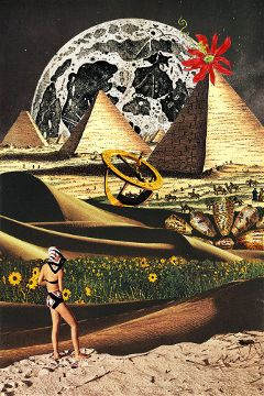 collage collageart retro vintage