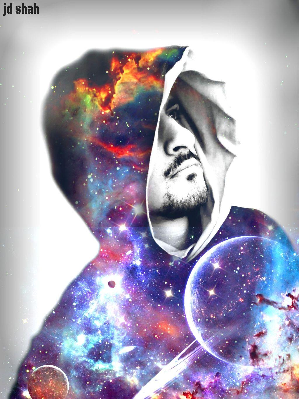 #Galaxy  #artisticselfie #space #madewithpicsart #illusions #inspiration