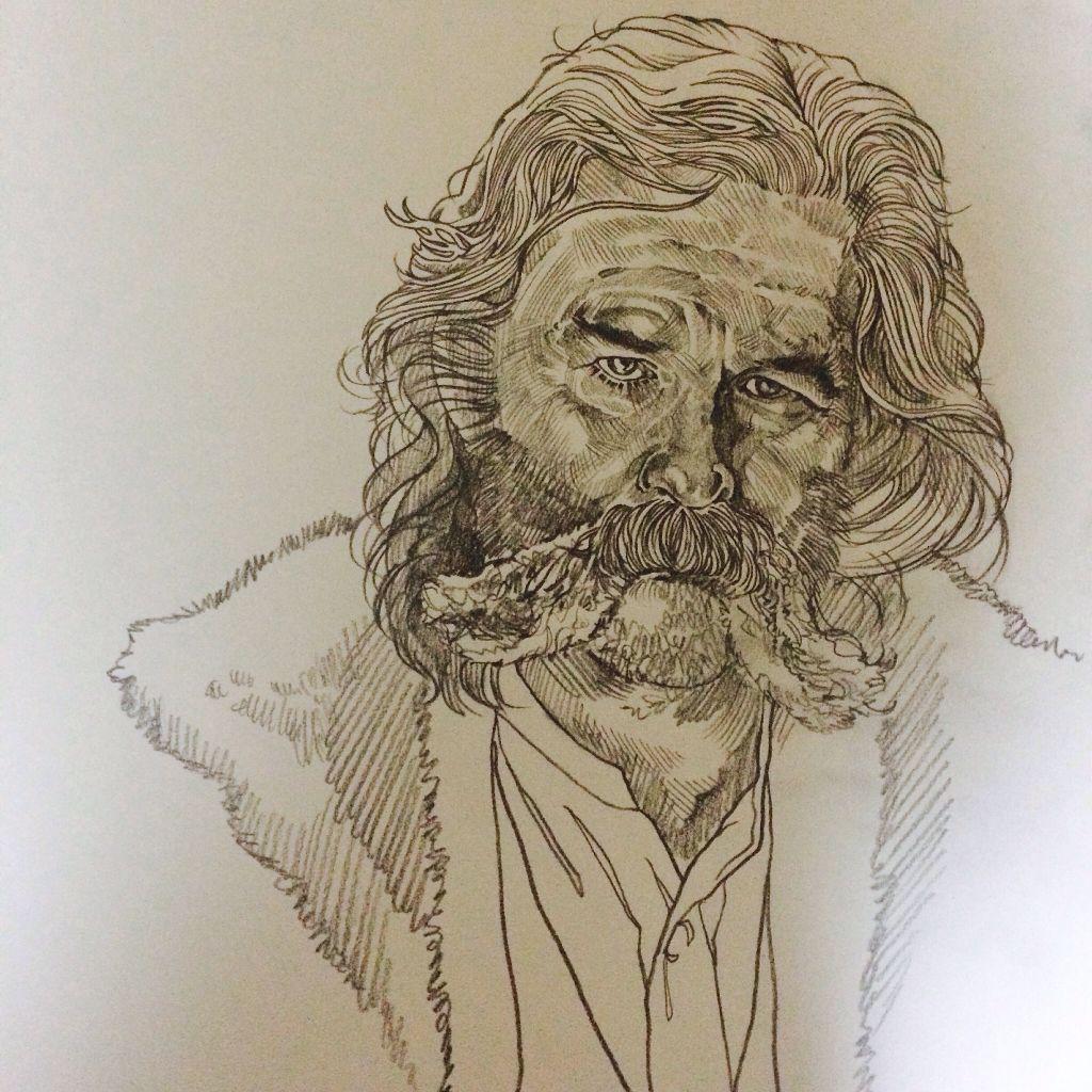 Illustration Illust Pencil Drawing Draw Sketch Movie