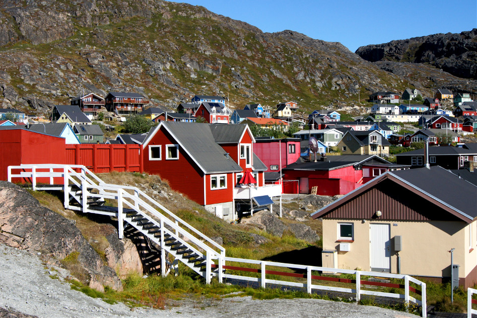 #Greenland #Qaqortoq #Travel #Stairs