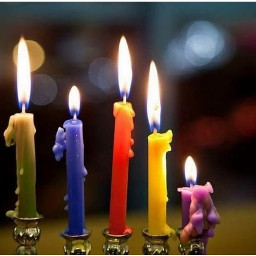 candle light colorful beautiful photography