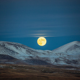 freetoedit lunar Moon nofilters landscape wonderful beautie night mountains clouds