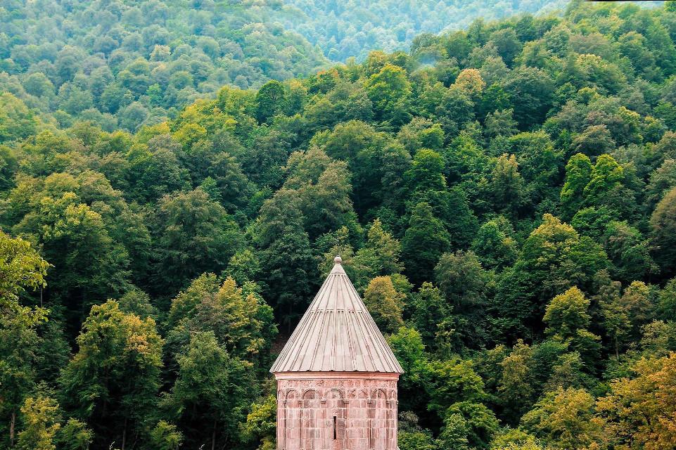 #armenia #landscape #monastery #dilijan