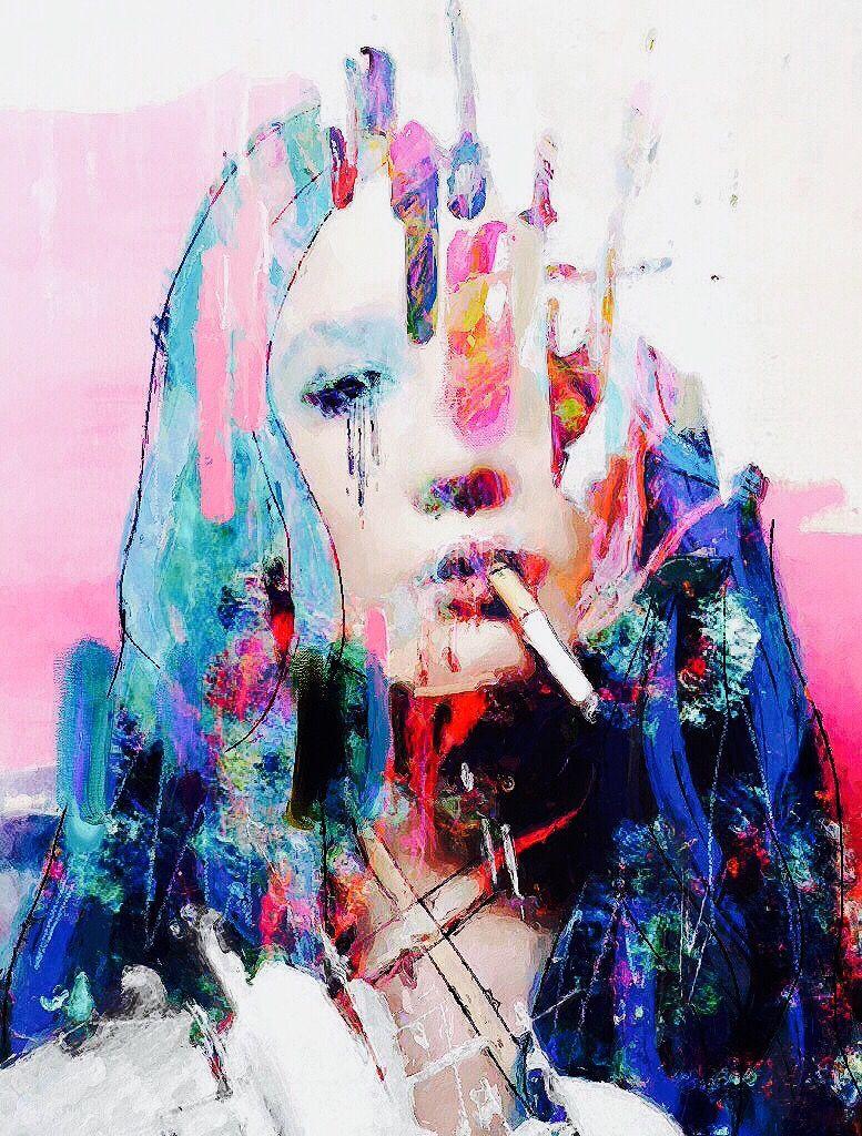 + queen honestly - [ #halsey #art #graphic ]