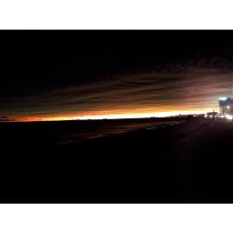 beach evening playa uruguay night