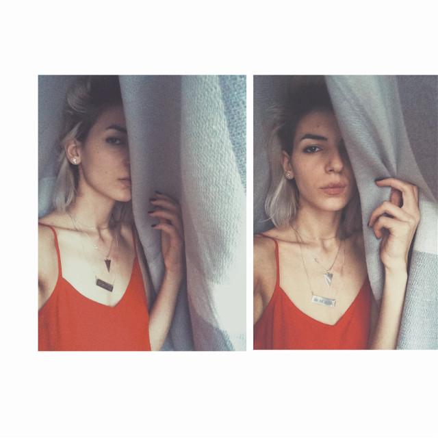 #girl #whitehair #selfie #art #freetoedit