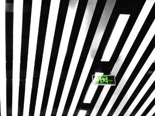 icon simple stripes blackandwhite photography