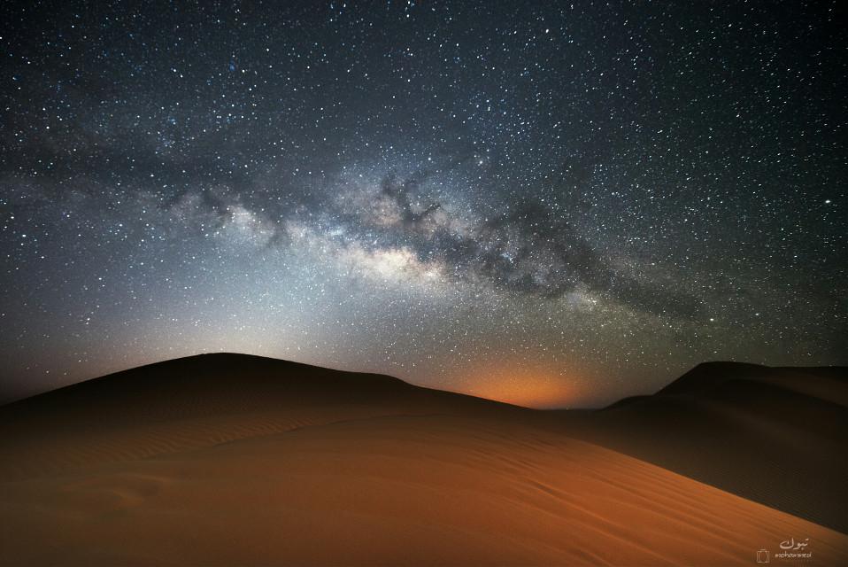 Milky Way Beauty and imagination.  . . .  Oman-dhofar-thamreet - shasr  21-2-2016 . .   #photography #nature #people #hdr #summer #nightphotography  #salalah#oman  @pa