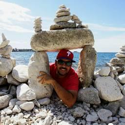 croatia stones beach rockbalancing photography