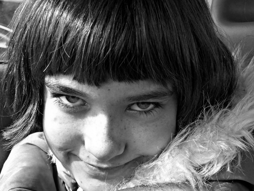 My daughter ❤️  #photography #people #blackandwhite