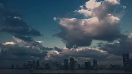 clouds sky nature