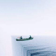 abstract surreal surrealism minimal water