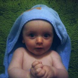 baby son love face