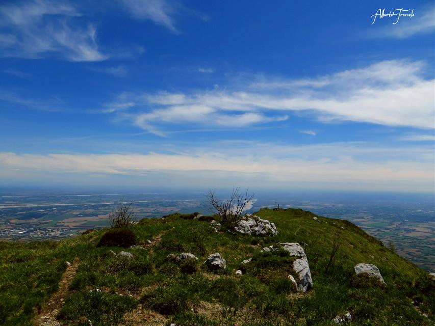 Monte Fara #mountain#blu#sky#beautifulday #emotions
