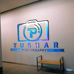 mockup logo tushar