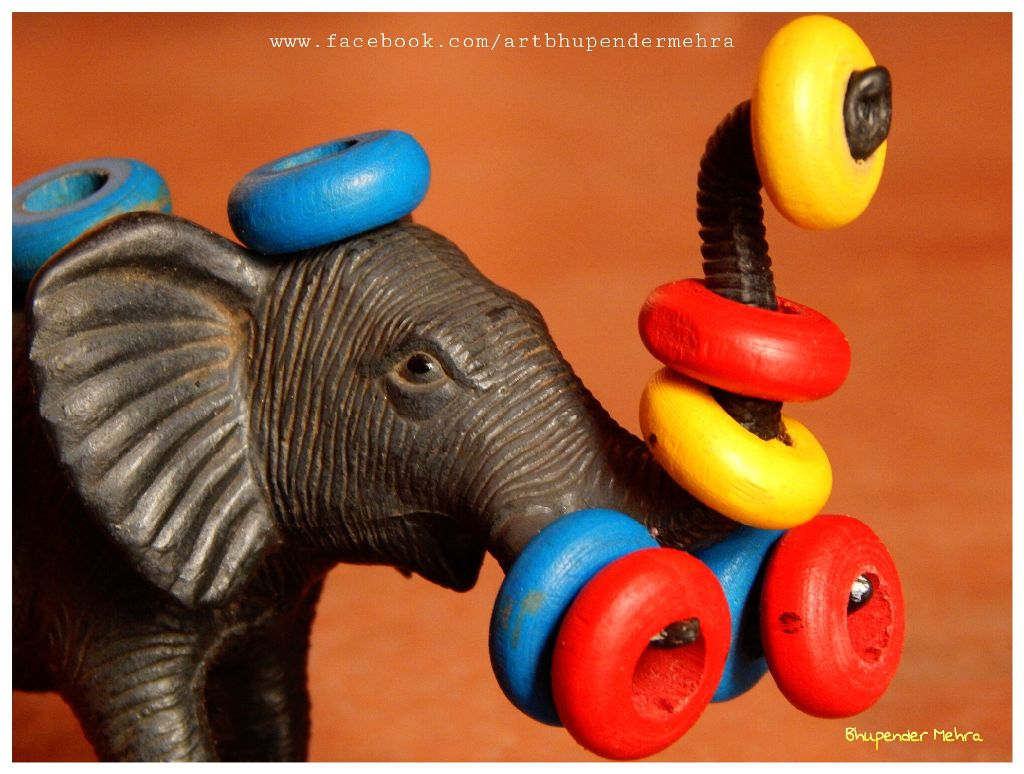 #Toy 🐘 #colorful #hdr #photography