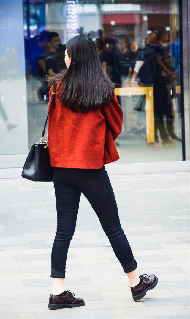 #girl #back #red #fashion #beautiful #pretty #taikooli