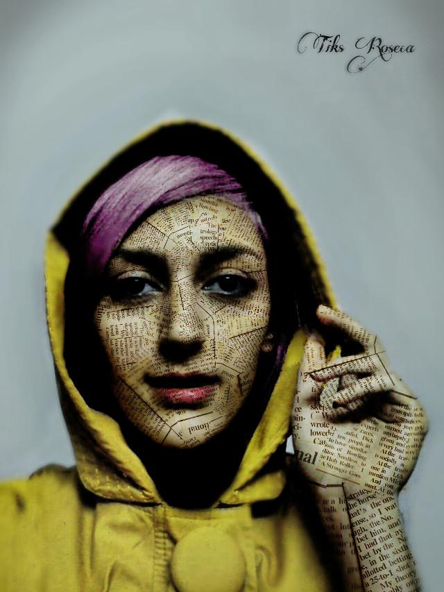 Paper skin Quick edit for  @fereshtehk  hope you like it :-) #art   #retro  #clipart  #edited
